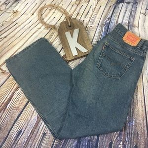Levi's 505 Straight Stone Washed Jeans 30/30